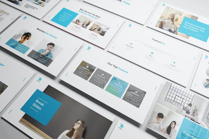 Thumbnail for Business Solution Keynote Template