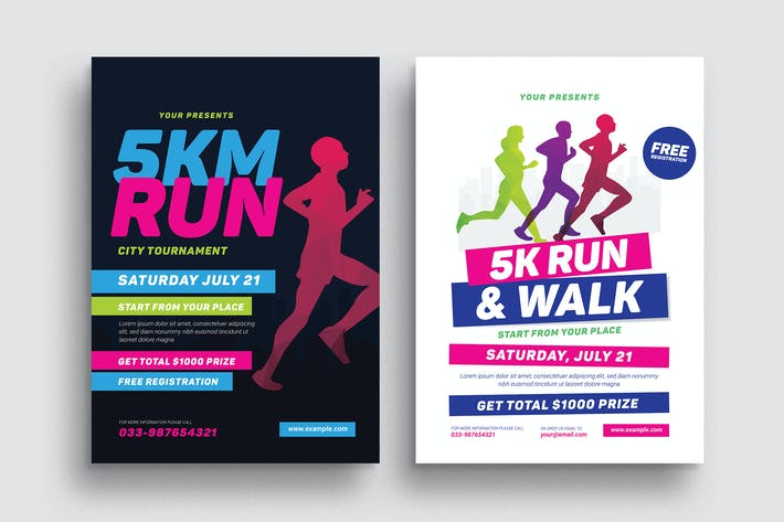 Thumbnail for 5k Run Event Flyer
