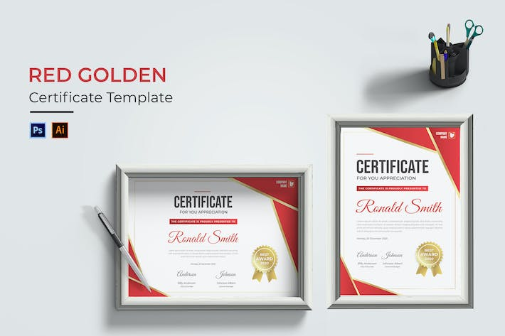 Red Golden Certificate