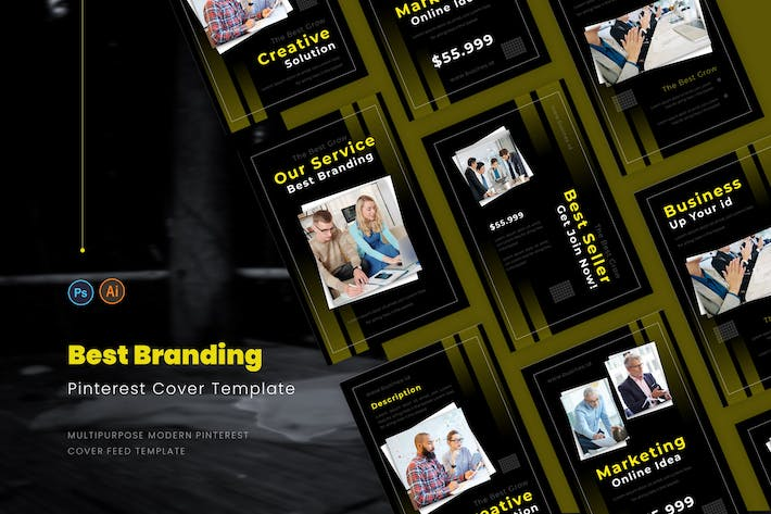 Thumbnail for Best Branding Pinterest Cover