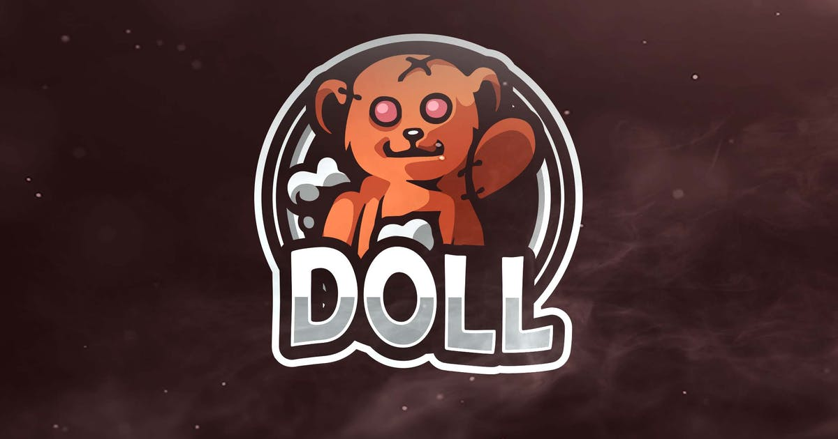 Download Doll Sport and Esports Logo by ovozdigital