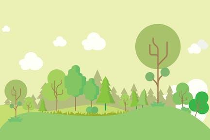 Forest - Illustration Background