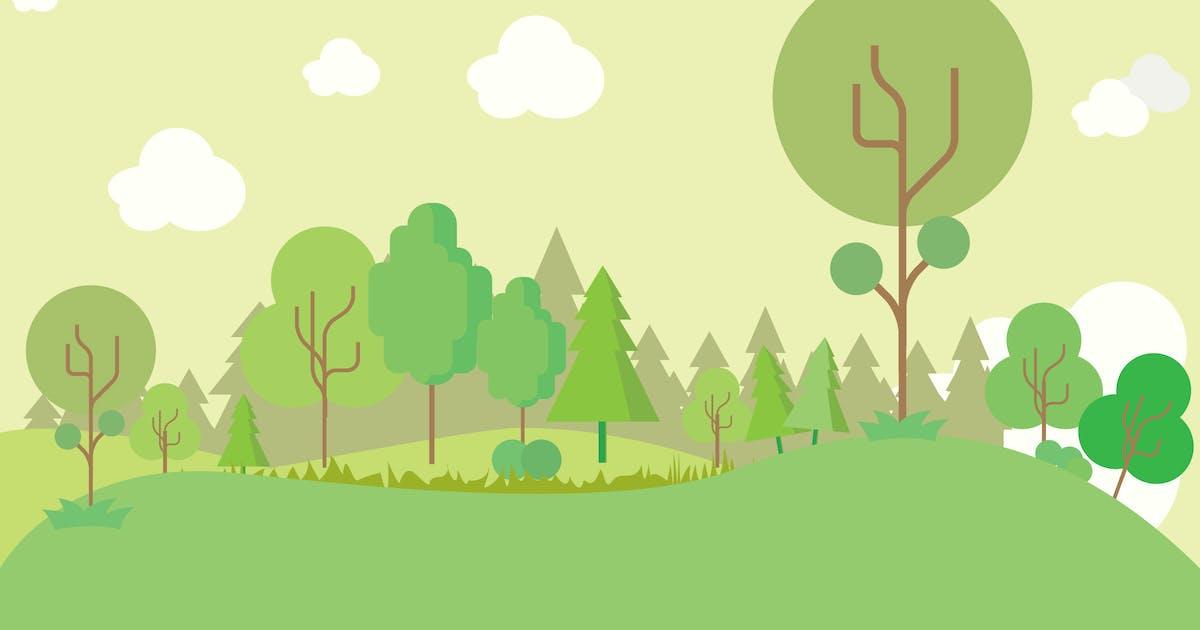 Download Forest - Illustration Background by Graphiqa