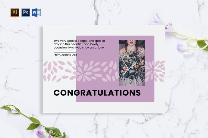Thumbnail for Wedding Planner Greeting Card
