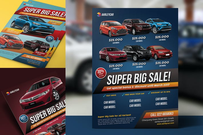 Thumbnail for Car Sale Flyer