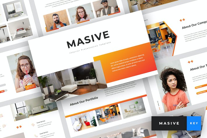 Thumbnail for Masive - Interior Keynote Template