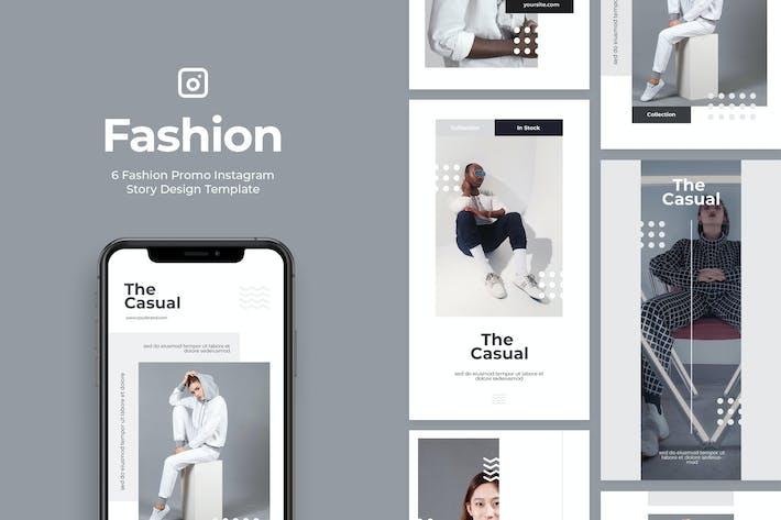 Thumbnail for 6 Promo Fashion Instagram Story Vol.2
