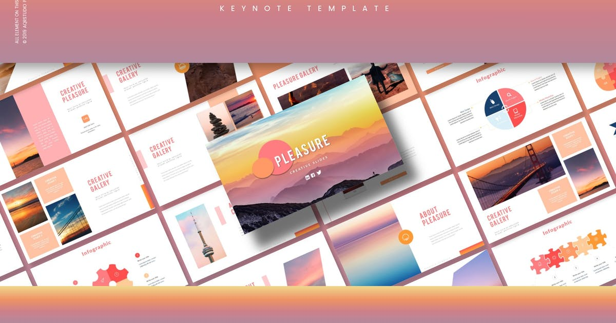 Download Pleasue - Keynote Template by aqrstudio
