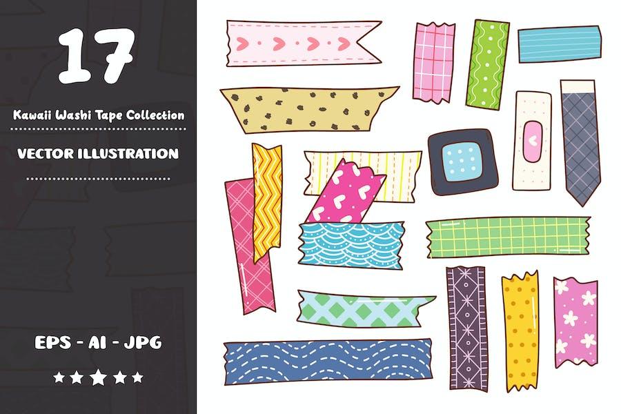 Kawaii Washi Tape Collection