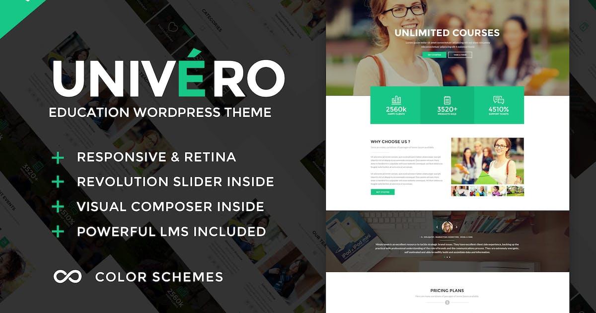 Download Univero - Education LMS & Courses WordPress Theme by ninzio