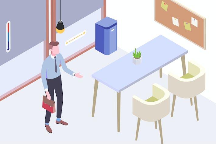 Thumbnail for Smart Things for Smart Home Isometric Illustration