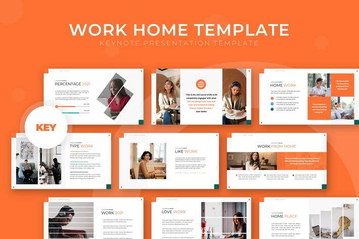 Work Home - Keynote Template