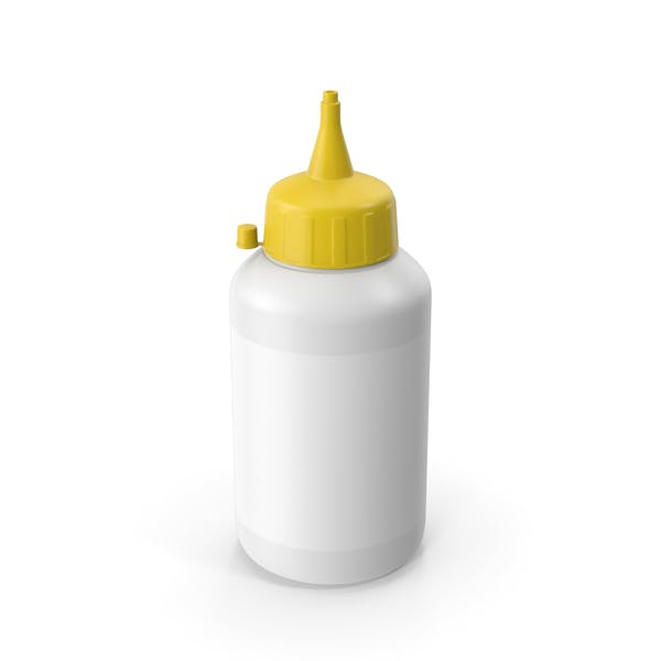 Glue Bottle Yellow