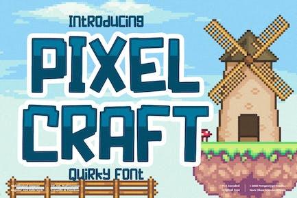 Pixel Craft Display Font LS