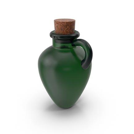 Flasche ohne Seile
