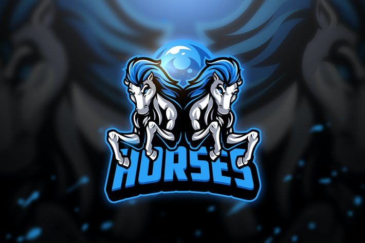 Thumbnail for Horses 2 - Mascot & Esport Logo