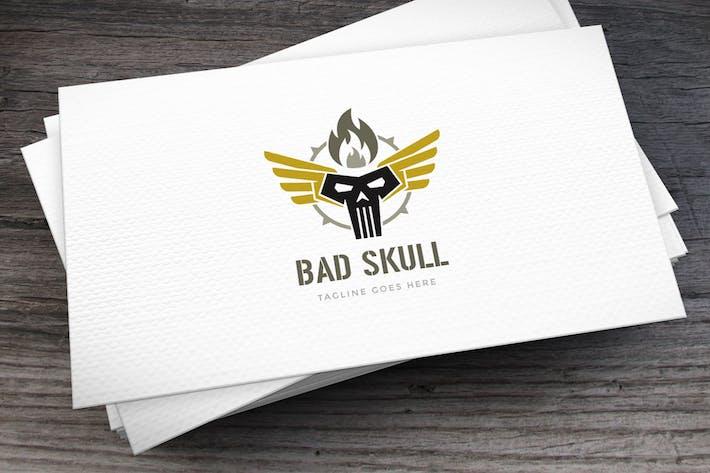 Thumbnail for Bad Skull Logo Template