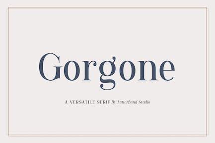 Gorgone - Un Con serifa versátil