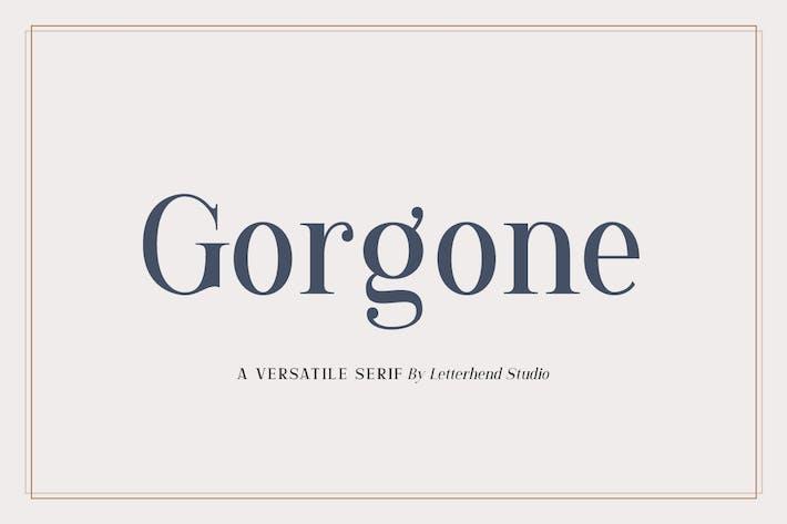 Thumbnail for Gorgone - Un Serif polyvalent