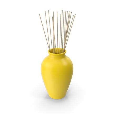 Decorative Pottery Yellow