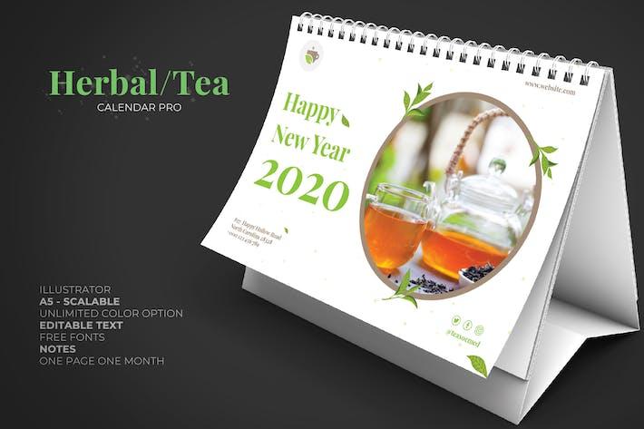Cover Image For 2020 Tee Kräutergrün Kalender Pro