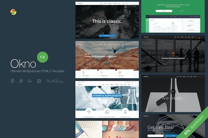 Thumbnail for Okno - Ultimate Multipurpose Modèle HTML5