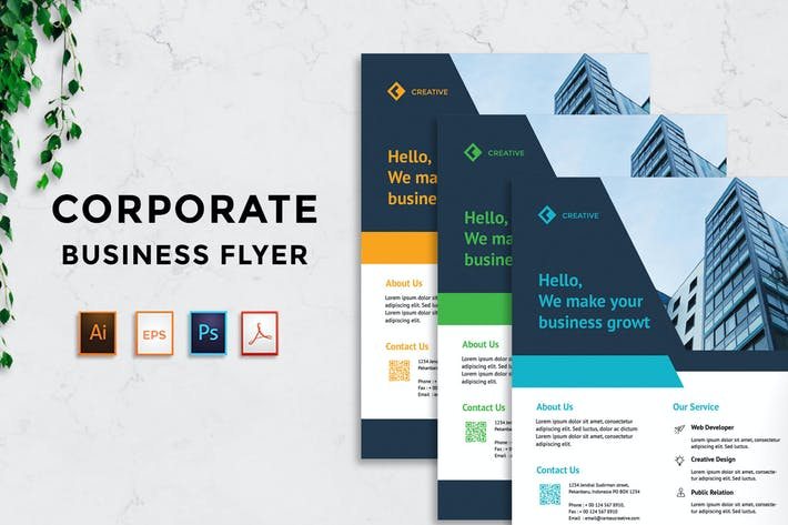 Thumbnail for Corporate Business Flyer v2 - [code YP]
