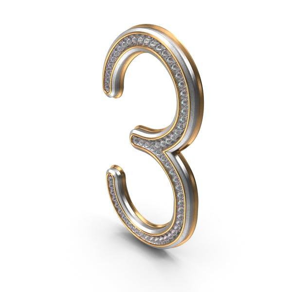 Бриллианты Bling Номер 3