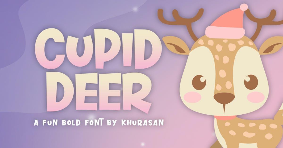 Download Cupid Deer Font by khurasan