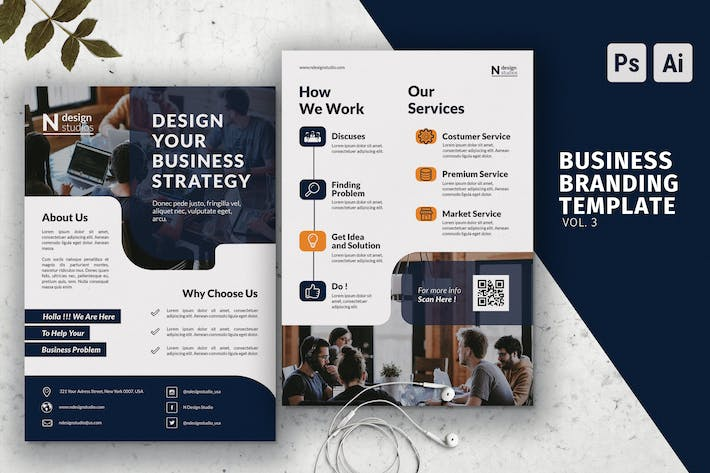 Thumbnail for Business Flyer Vol.3