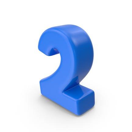 Azul Número 2