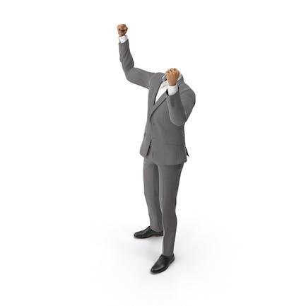 Success Hands Up Suit