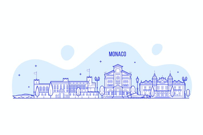 Thumbnail for Monaco skyline