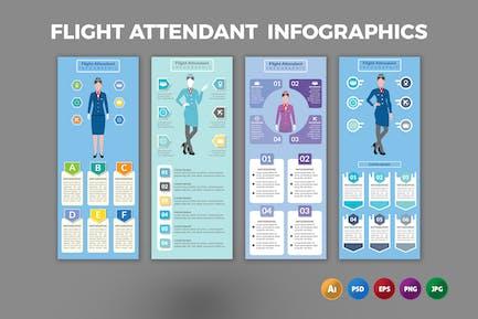 Flight Attendant – Infographics Design