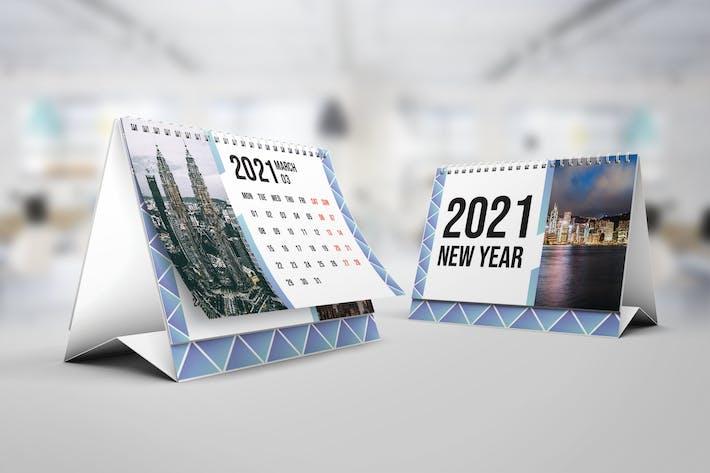 Thumbnail for Prism Calendar 2021 – Calendar Template