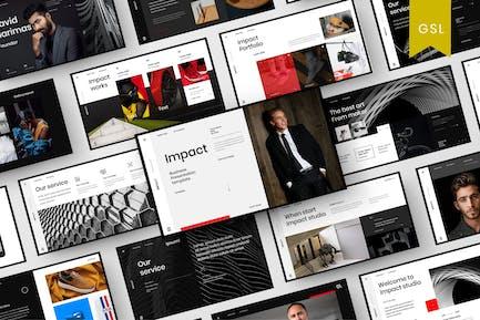 Impact - Business Google Slide Template