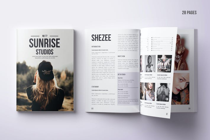 Thumbnail for Multipurpose Photo Magazine A4 & US Letter 28 Pgs