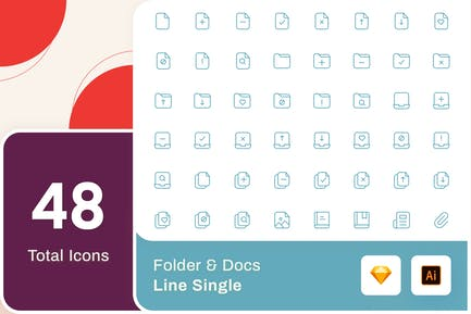 Line Senja - Folder & Docs