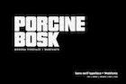 Porcine Bosk - Modern typeface + WebFont