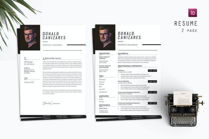 Donald Designer Resume Designer