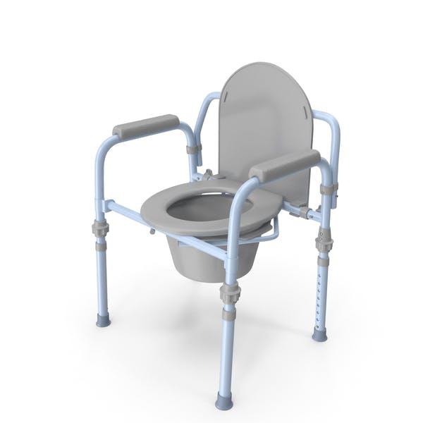 Medical Folding Bedside Commode Seat
