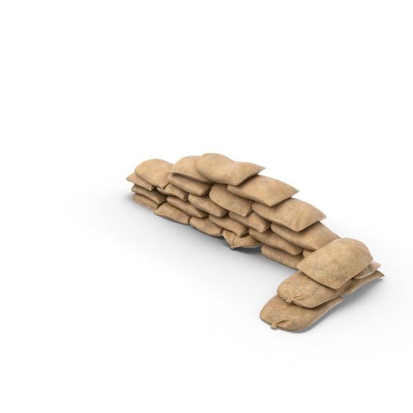 Thumbnail for Sandbag Barricade