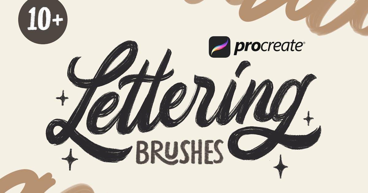 Download Procreate Lettering Brushes by RakataStudio