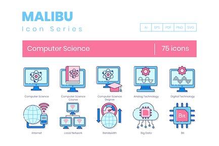 75 Informatik-Symbole - Malibu Series