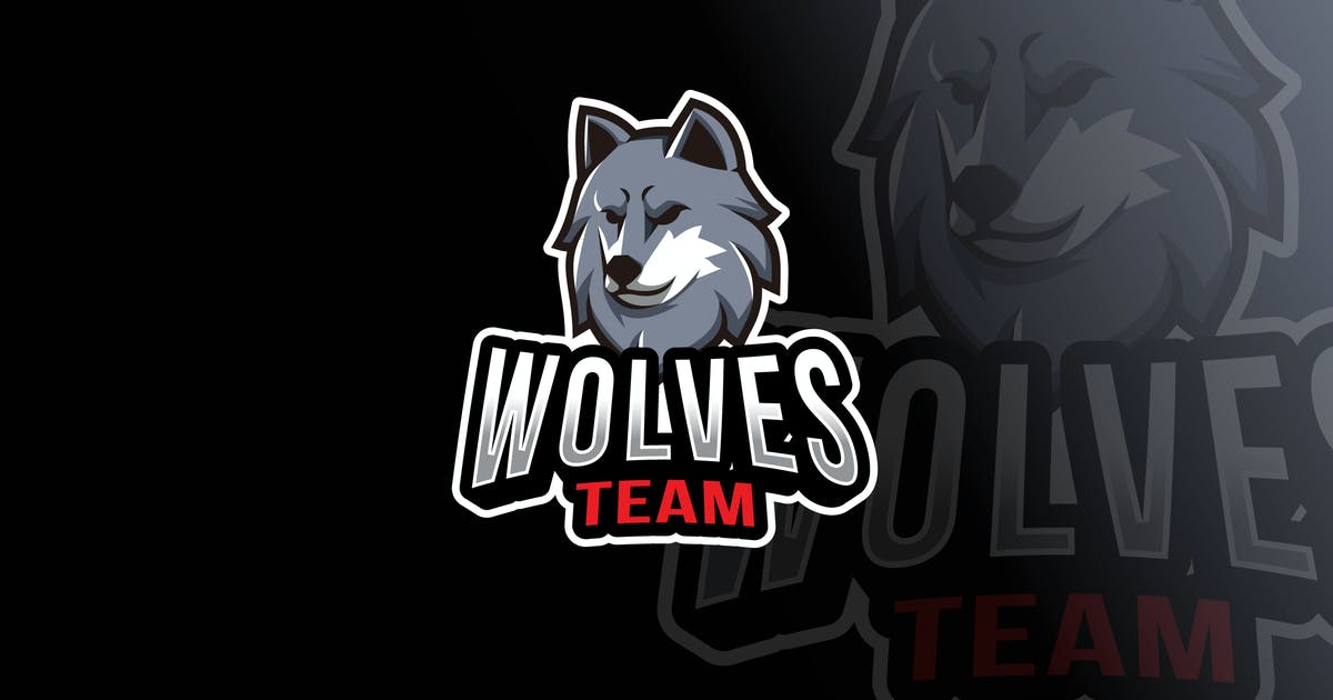 Download Wolves Team Logo Template by IanMikraz