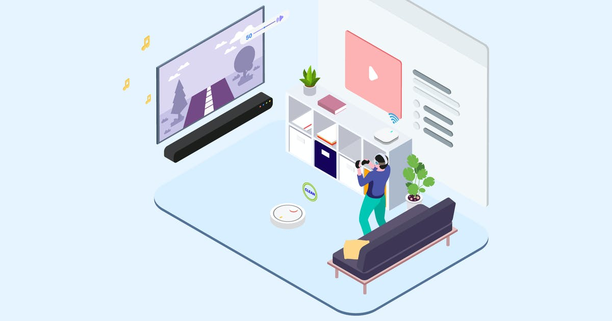 Download Smart Echo Isometric Illustration - T2 by angelbi88