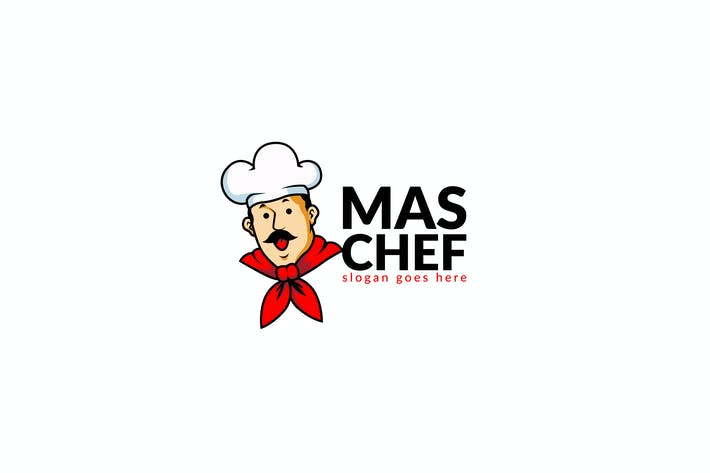 Thumbnail for Chief Food Restaurant Logo