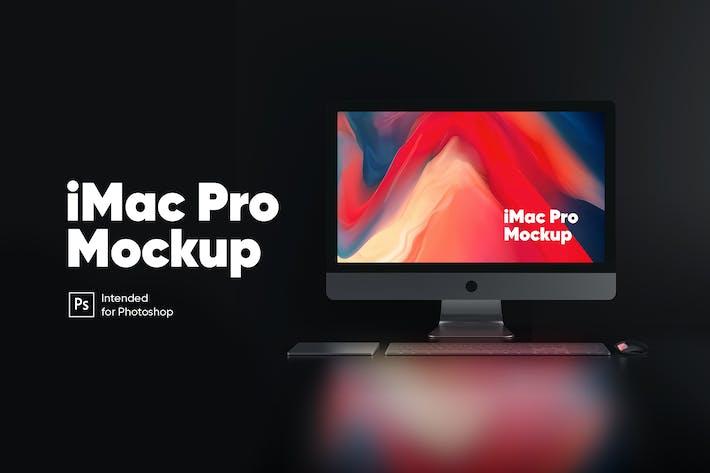 Thumbnail for iMac Pro (Night Version) Mockup
