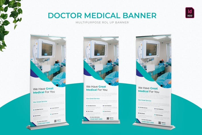 Thumbnail for Doctor Medical | Roll Up Banner