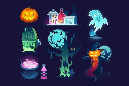 Halloween Illustrations